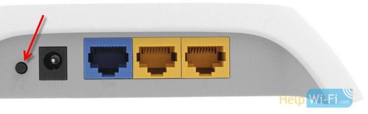 КнопкаWPS/RESET наTP-LINK TL-WR720N