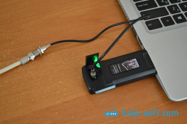 Подключение антенны к модему Интертелеком