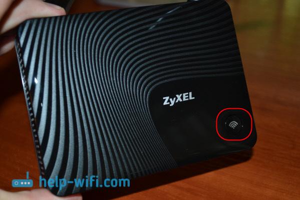 Кнопка WPS на ZyXEL