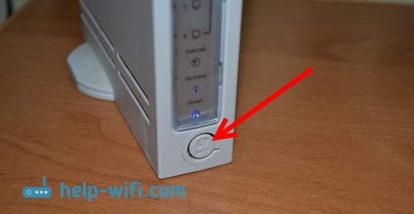 Кнопка WPS для соединения в режиме репитер