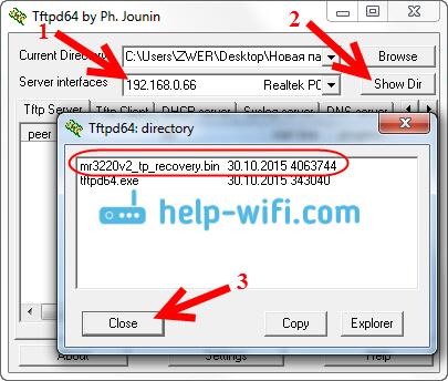 Восстанавливаем Tp-Link через Tftpd