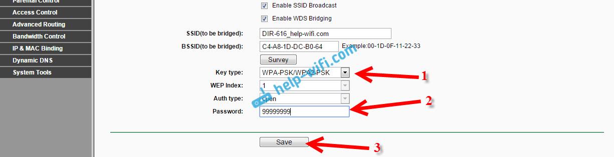 Настройка WDS на Tp-Link