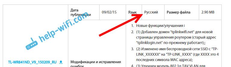 Прошивка на русском языке для Tp-link TL-WR841N
