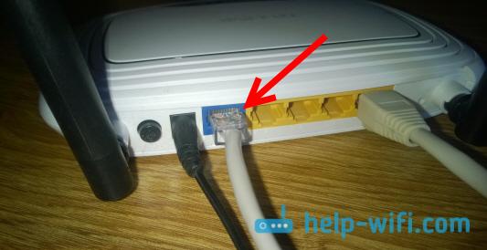 Подключение интернета к Tp-link TL-WR841N