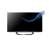 Телевизоры LG: подключение по сетевому кабелю