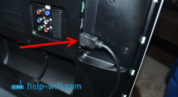 Подключение телевизора к ноутбуку Windows 10 по HDMI
