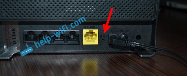 Сброс пароля на роутере D-Link DIR-300