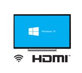 Windows 10: подключение к Smart TV по Wi-Fi и HDMI