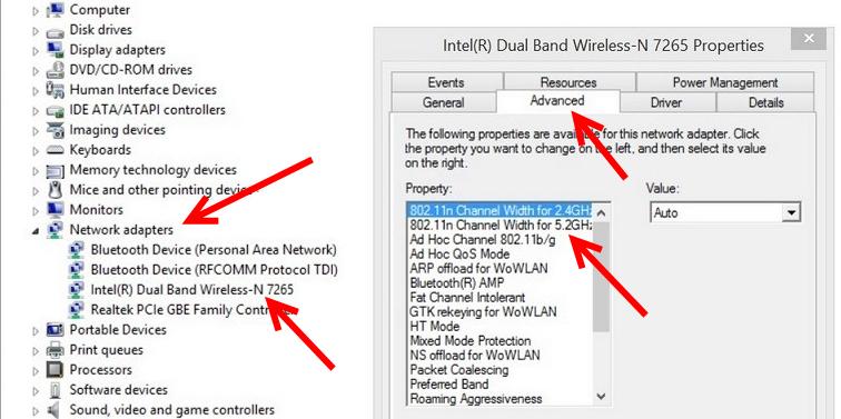Проверка поддержки Wi-Fi 5 GHz на ноутбуке