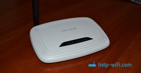 Смена пароля Wi-Fi на Tp-link TL-WR741ND