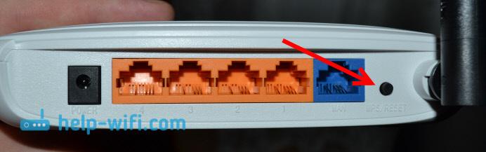 Сброс настроек роутера если забыли пароль
