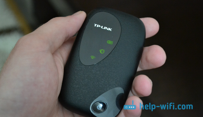 TP-LINK M5250: индикаторы работы