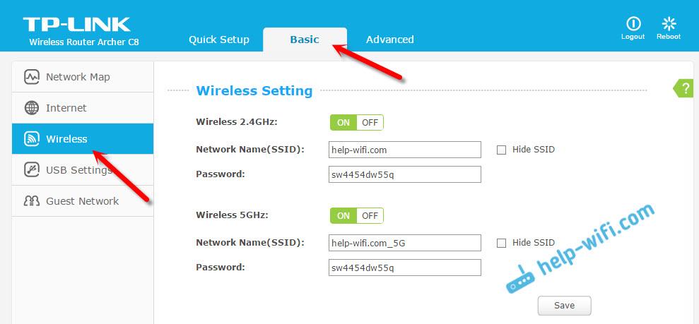 Ручная настройка Wi-Fi сети