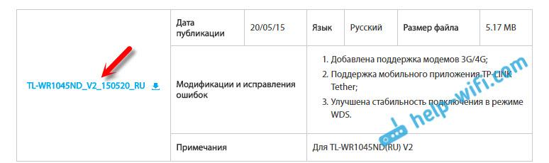 Прошивка для TL-WR1045ND