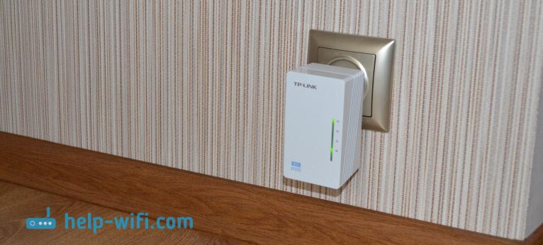 Подключение адаптера TP-LINK TL-WPA4220