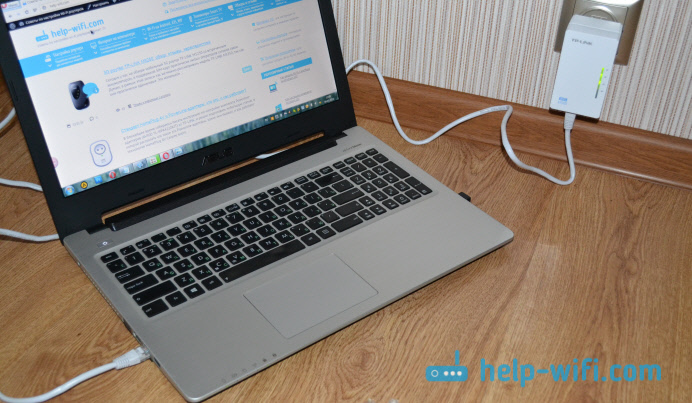 Подключение устройств через PowerLine сеть
