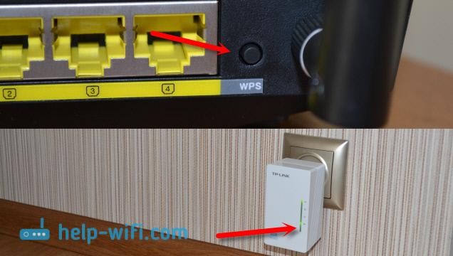 Расширение Wi-Fi сети через PowerLine адаптер TP-LINK