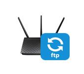 FTP на роутере ASUS