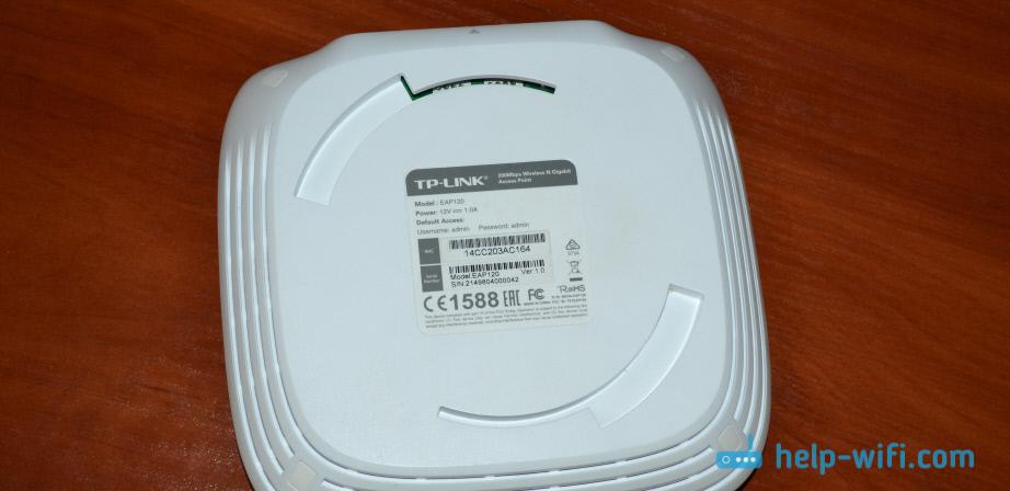 Обзор TP-LINK EAP120