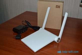 Комплектация Xiaomi mini WiFi router