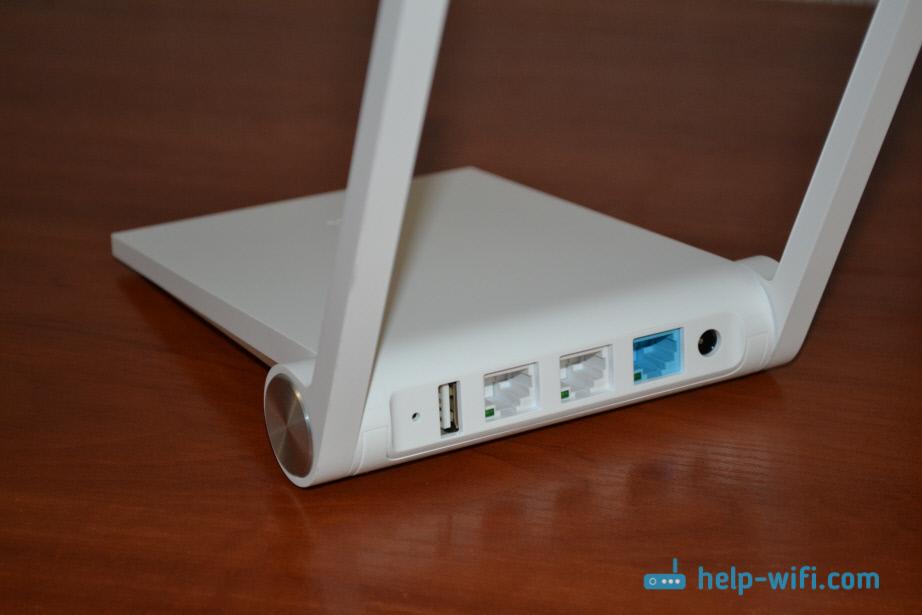 Порты роутера Xiaomi mini WiFi