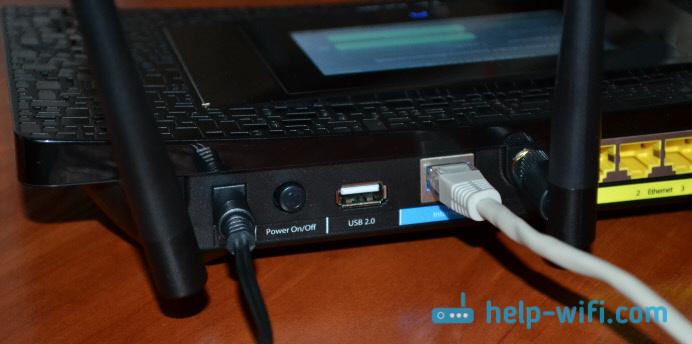 Схема подключения роутера TP-Link AC1900 Touch P5