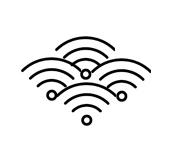 Много соседних Wi-Fi сетей. Разрывы соединения