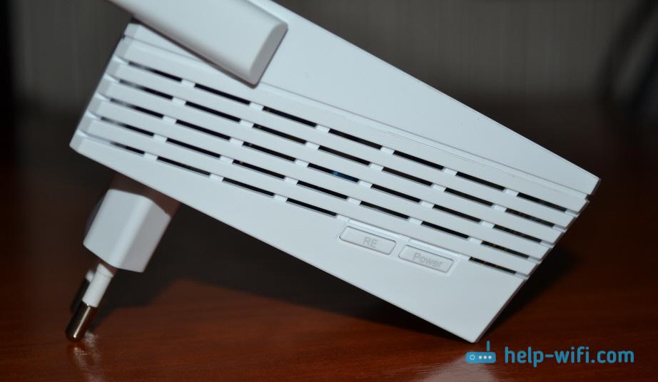 Элементы управления репитера TP-Link AC750 RE210