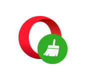 Очистка истории, кэша, куки, паролей в Opera