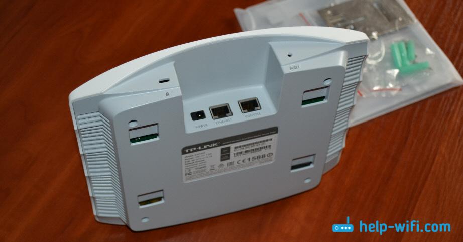 Порты и кнопки TP-Link EAP320
