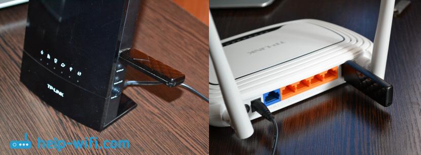Подключение USB диска к TP-Link