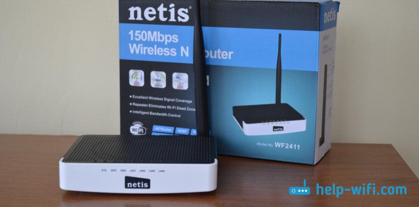Netis WF2411: недорогой роутер для дома