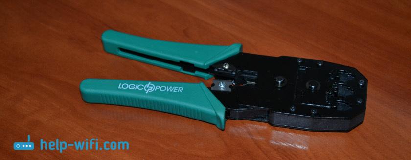 Кримпер: инструмент для обжима витой пары