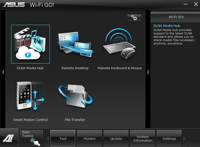 Утилита WI-FI Go! для компьютера