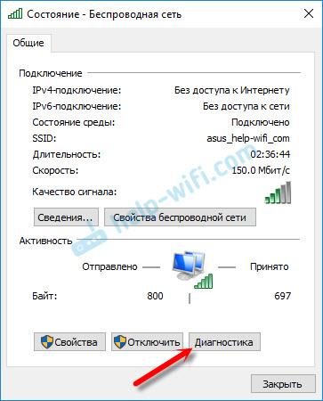 Без доступа в интернет как исправить