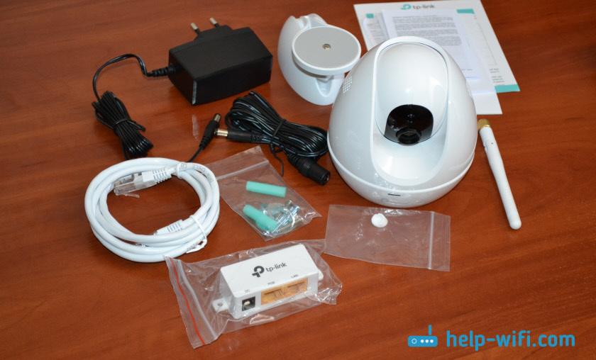 Комплектация камеры TP-Link NC450