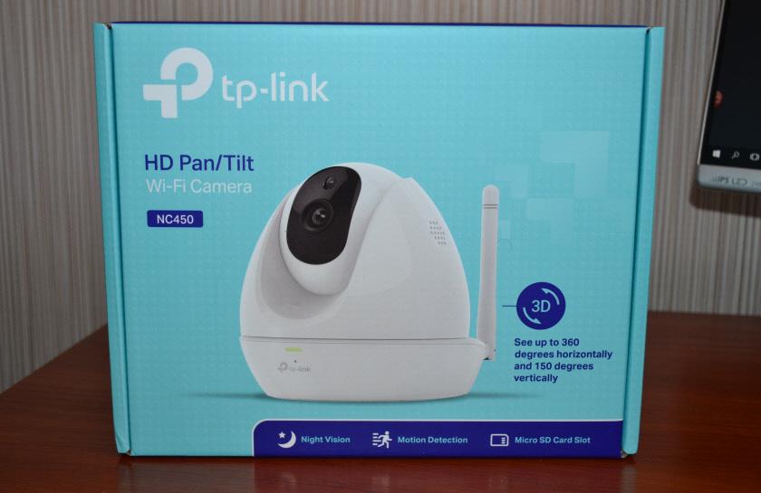 Упаковка камеры TP-Link NC450