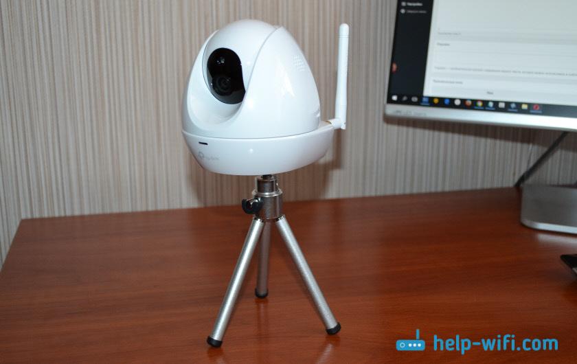 Облачная Wi-Fi камера на штативе
