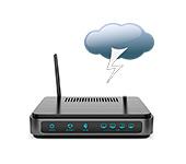 Wi-Fi роутер и гроза