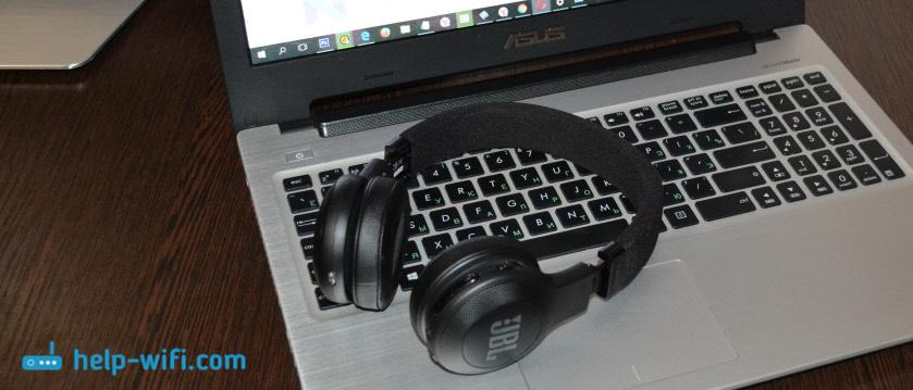 Bluetooth наушники: подключение к ноутбуку