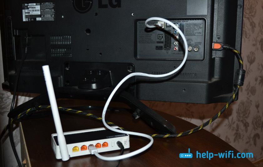 Wi-Fi адаптер для телевизора из роутера