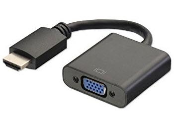Как соединить ноутбук с телевизором если нет HDMI