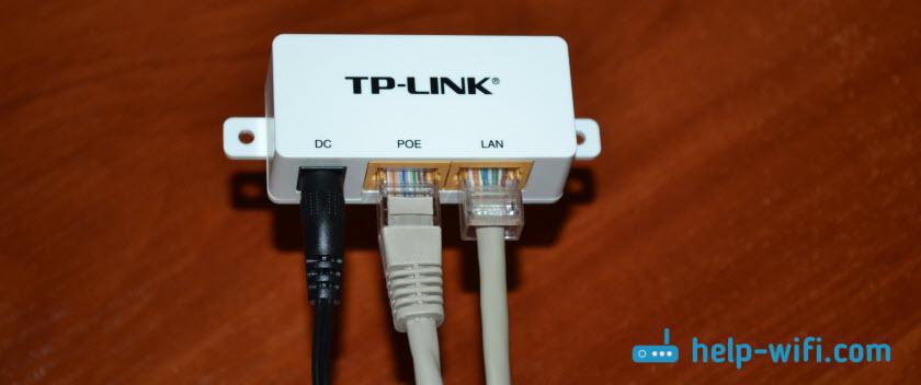 Подключение точки доступа L-WA701ND и TL-WA801ND с питанием по PoE