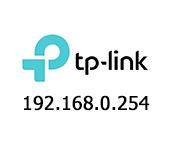 TP-Link: 192.168.0.254
