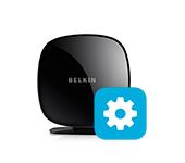 web интерфейс Belkin