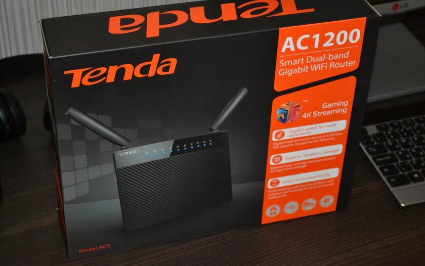 Упаковка Tenda AC9