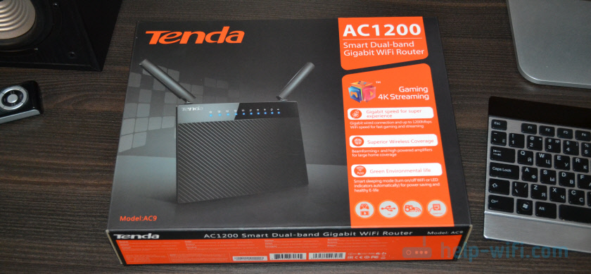 Настройка Tenda AC9