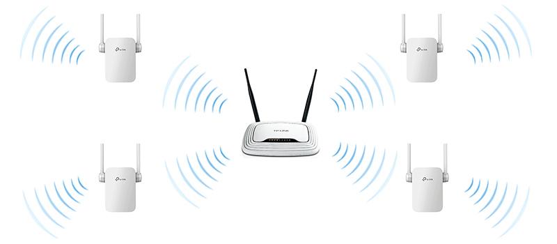 Как подключить несколько репитеров к Wi-Fi роутеру