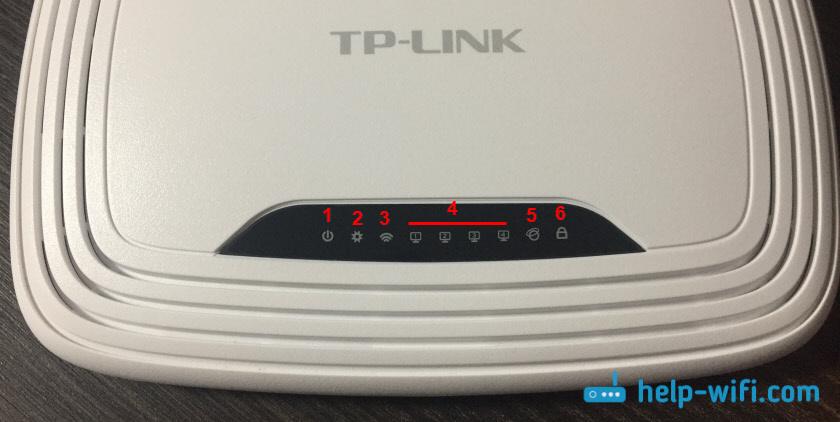 Индикаторы (лампочки) на роутерах TP-Link