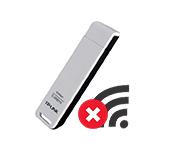 Адаптер TP-Link не находит доступные сети